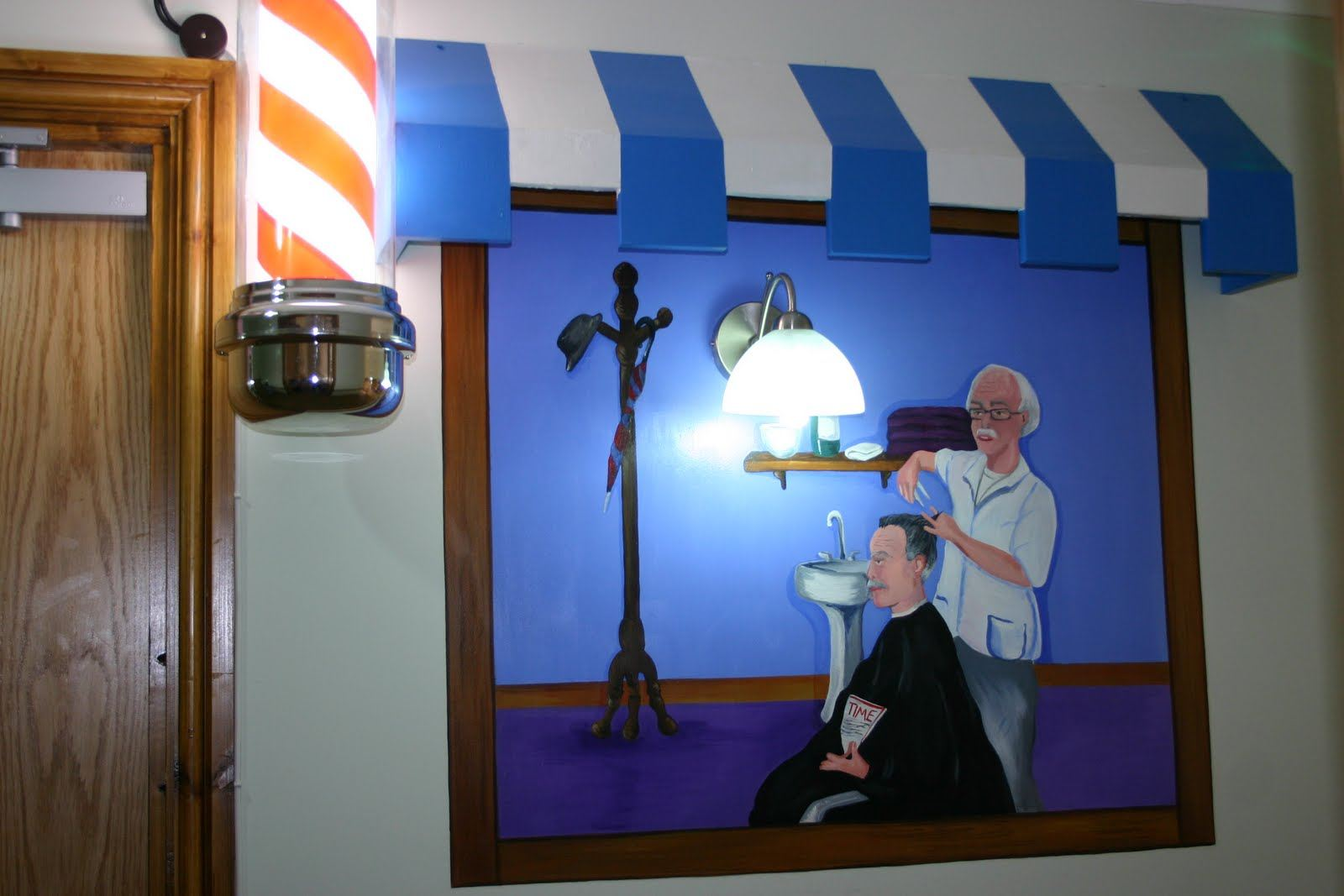 Commercial wall murals the muralist business shop for Commercial mural